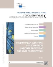 Study by policy department on European elections