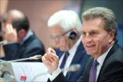 Energy debate with European Commissioner Oettinger at the EP in Brussels on Wednesday 24/09/2014