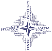 Logo NATO Strategic Communications Center of Excellence