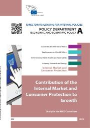 Contribution of the Internal Market and Consumer Protection to Growth
