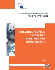 tudy Indigenous peoples, extractive industries and human rights