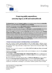 Financing Public Expenditure: Some Key Figures at EU and National Levels