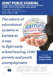 Early school leaving, child poverty and youth unemployment