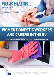 FEMM Women domestic workers and carers