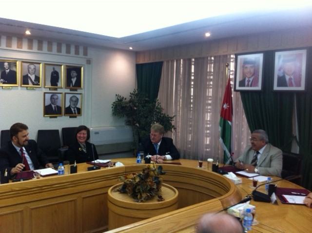 Brok in Jordan with HE Abdur-Rauf Alrawabdeh Speaker of the Senate.JPG