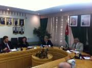 Elmar Brok and EP delegation from AFET in Jordan with HE Abdur-Rauf Alrawabdeh, Speaker of the Senate