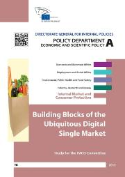 Workshop on Building Blocks of the Ubiquitous Digital Single Market