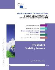ETS Market stability reserve - Study