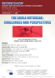 Workshop on the ebola outbreak - challenges and perspectives