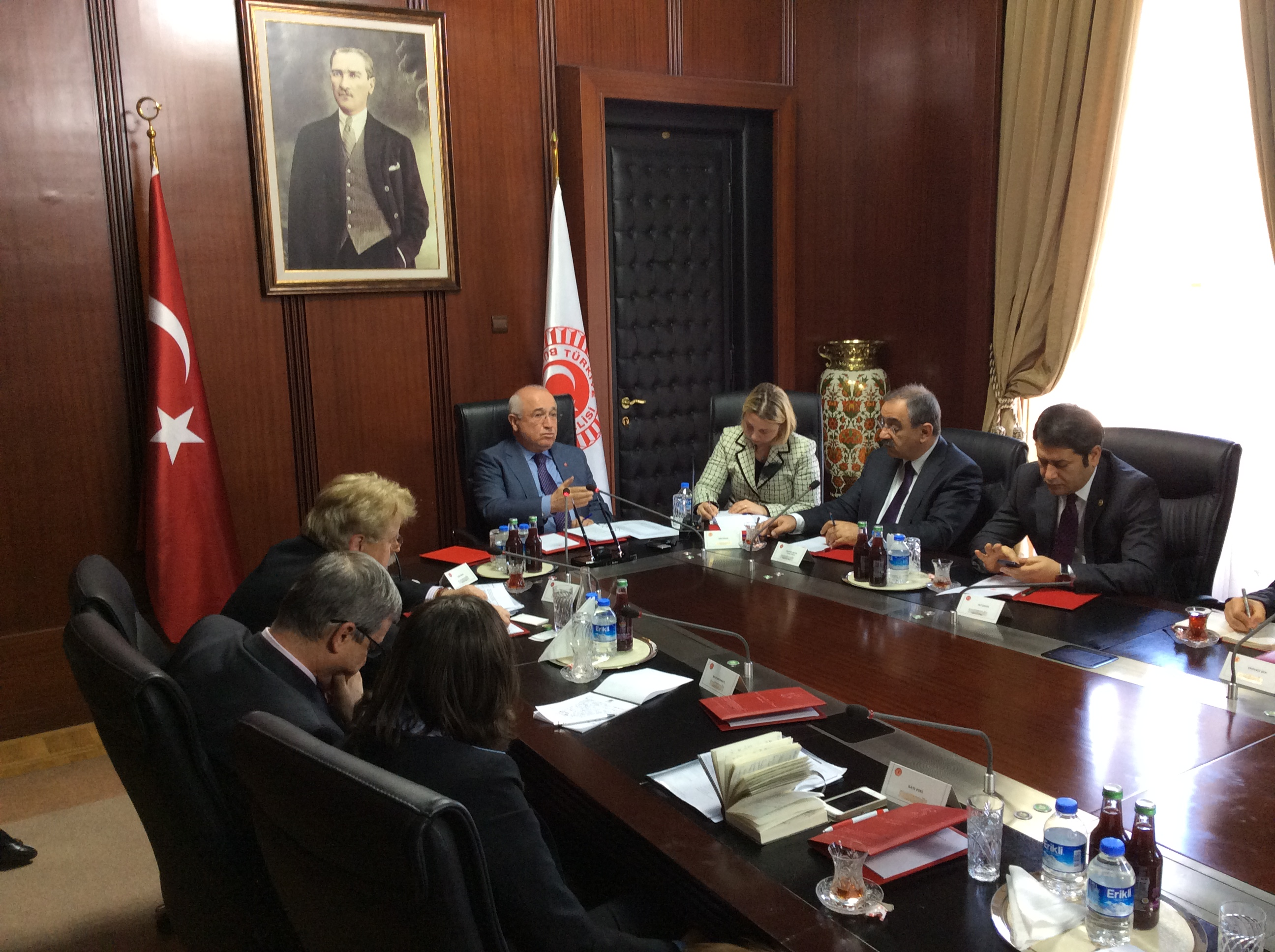 Meeting with Speaker of the Turkish Grand National Assembly.JPG