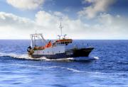 picture of a fishing boat - type Trawler