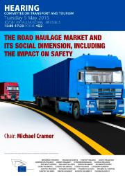 Hearing on road haulage market