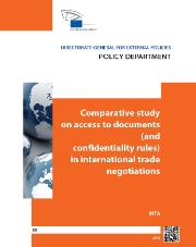 Comparative study on access to documents