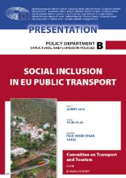Social inclusion in EU public transport