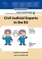 juri workshop poster civil judicial experts in the eu