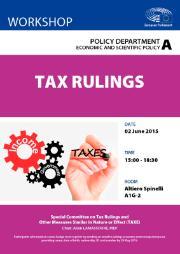 Tax rulings across the European Union: Workshop