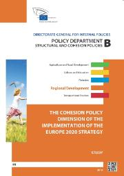The Cohesion Policy dimension of the implementation of the Europe 2020 Strategy - cover page of the study