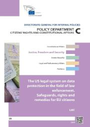 US legal system on data protection in the field of law enforcement