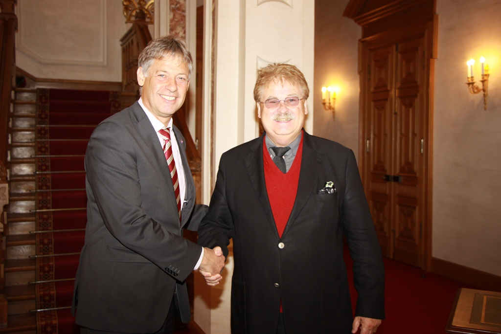 Elmar Brok met the Vice President of the Luxembourg Chamber of Deputies