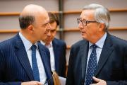Commission President Juncker and Commissioner Moscovici