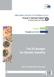 "Study ""The EU Budget for Gender Equality"""