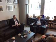 Elmar Brok meets Australian Minister of Finance Mathias Cormann