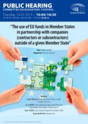The use of EU funds in Member States in partnership with companies outside of a given Member State