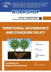 Poster for the Workshop on Territorial Governance and Cohesion Policy