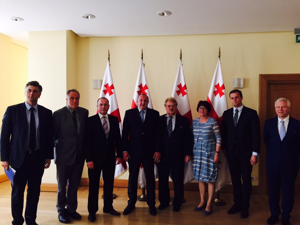 AFET Delegation meets Giorgi Margvelashvili, President of Georgia