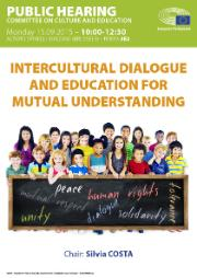 PH Intercultural dialogue and education for mutual understanding