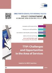 Study TTIP Challenges and opportunities in the area of services