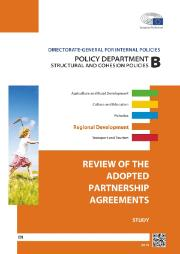 Cover page of a Study on Review of the Adopted Partnership Agreements