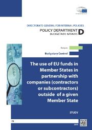 The use of EU funds in Member States in partnership with companies
