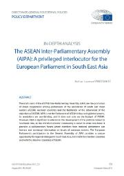In-depth analysis - ASEAN Inter-Parliamentary Assembly