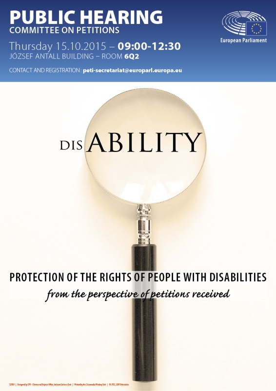 Protection of the rights of people with disabilities