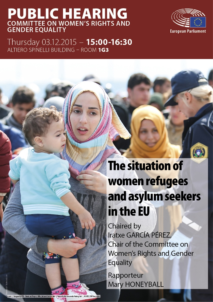The situation of women refugees and asylum seekers