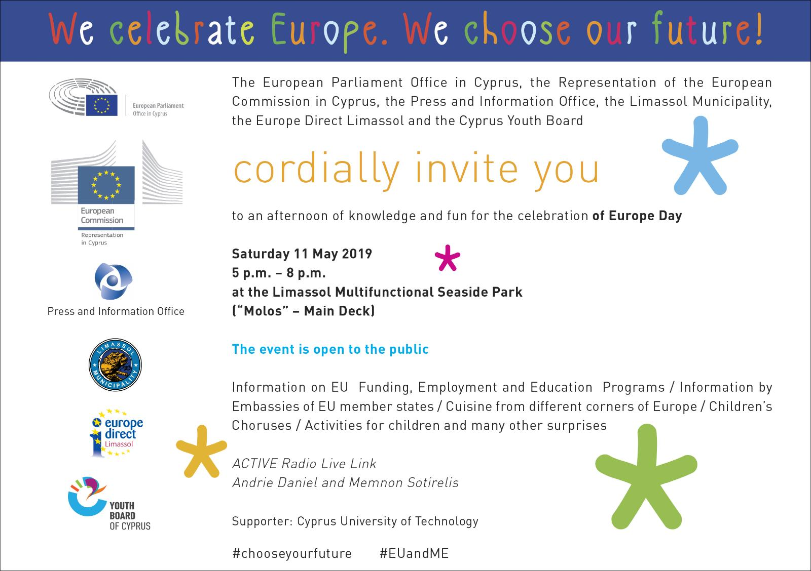 Invitation for Europe Day