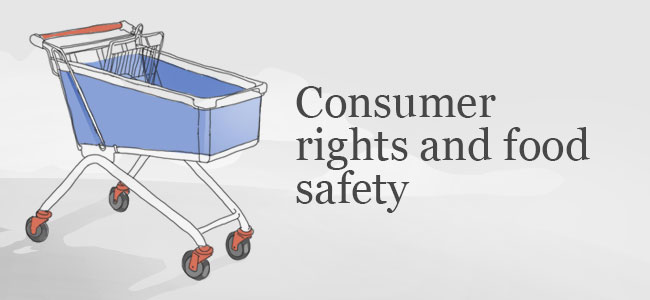 Consumer Rights And Food Safety Elections 2014