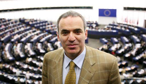 Gari Kasparov al Parlament Europeu