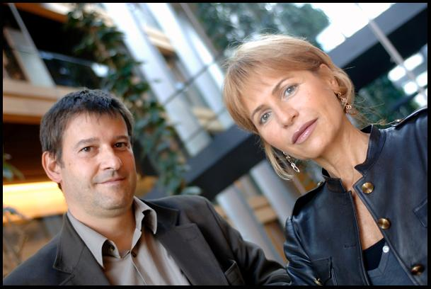 Portraits de Javier Moreno Sanchez et Lilli Gruber