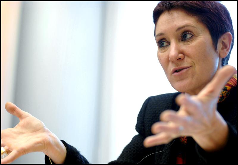 La eurodiputada Françoise Castex