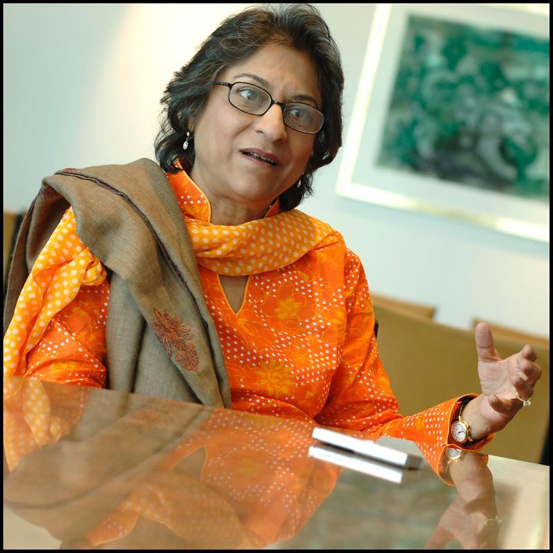 Asma Jahangir la Parlamentul European