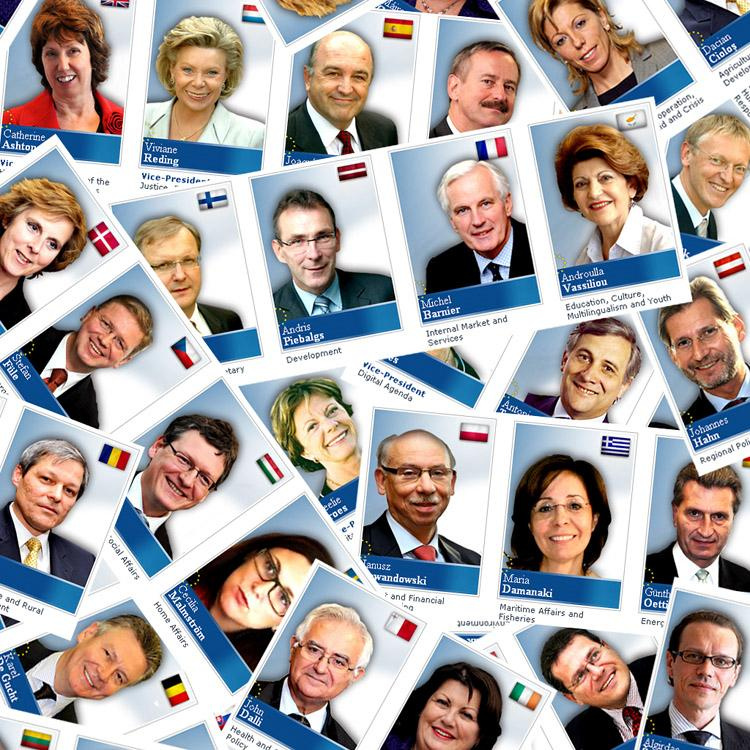 All 26 Commissioner-designates (Photo: European Parliament)