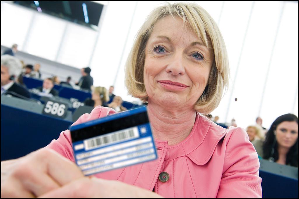 Η εισηγήτρια του ΕΚ, Françoise Grossetête, (ΕΛΚ, Γαλλία)