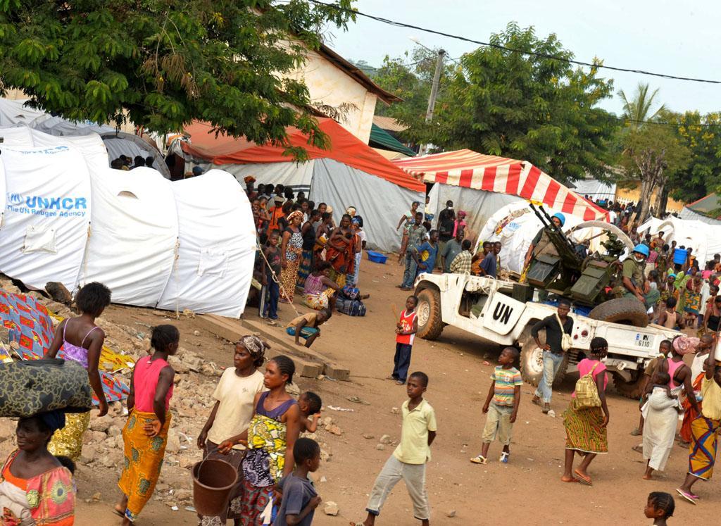 Ο ΟΗΕ στην ακτή του Ελεφαντοστού ©UN Photo/Basile Zoma