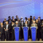 Family picture at the meeting between the EU institutions and religious leaders