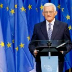 Buzek's introductory speech at the inauguration of the Esplanade Solidarność and Agora Simone Veil (Brussels 02/09/2011).