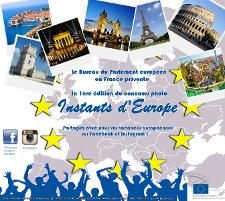 "Concours photo ""Instants d'Europe !"""