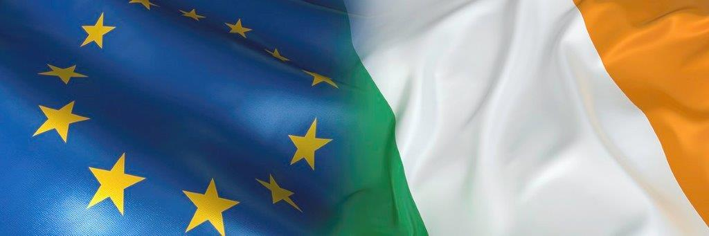 picture of EU-Irish flag