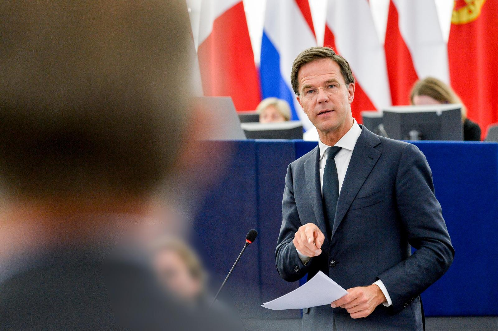 PM of the Netherlands Mark Rutte